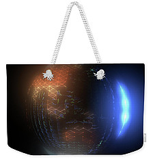 Albedo - Transition From Night To Day Weekender Tote Bag