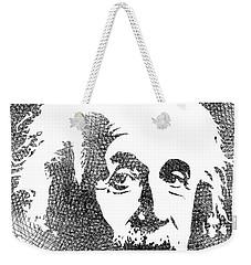 Albert Einstein Bw  Weekender Tote Bag