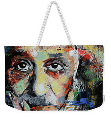 Albert Einstein Weekender Tote Bag by Richard Day