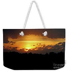 Alberta Sunset Weekender Tote Bag