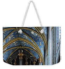 Albi Cathedral Nave Weekender Tote Bag
