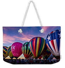 Albuquerque Hot Air Balloon Fiesta Weekender Tote Bag