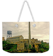 Alcatraz From The West Weekender Tote Bag