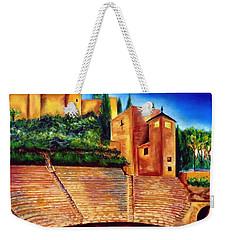 Alcazaba Y Teatro Romano Weekender Tote Bag