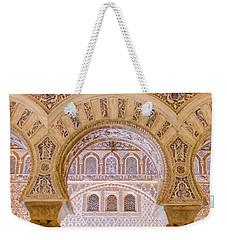 Alcazar Of Seville - Unique Architecture Weekender Tote Bag by Andrea Mazzocchetti