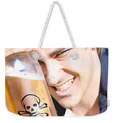 Weekender Tote Bag featuring the photograph Yo Ho Ho And A Bottle Of Rum by Jorgo Photography - Wall Art Gallery