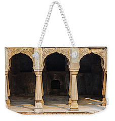 Alcoves At Chand Baori Stepwell Weekender Tote Bag