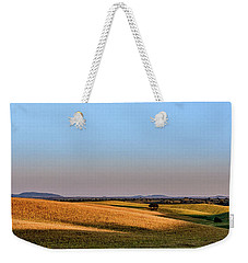 Weekender Tote Bag featuring the photograph Alentejo Fields by Marion McCristall