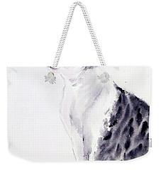 Alert Cat Weekender Tote Bag
