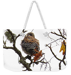 Weekender Tote Bag featuring the photograph Alert by I'ina Van Lawick