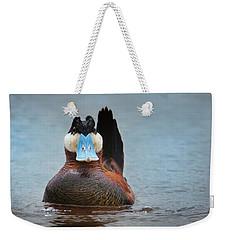 Alert Ruddy Weekender Tote Bag