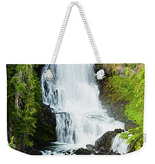 Weekender Tote Bag featuring the photograph Alexander Falls - 2 by Stephen Stookey