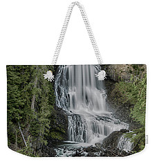 Weekender Tote Bag featuring the photograph Alexander Falls by Stephen Stookey