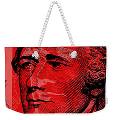 Alexander Hamilton - $10 Bill Weekender Tote Bag