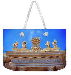 Alexander Vii Coat Of Arms Weekender Tote Bag
