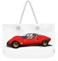 Alfa Romeo 33 Stradale 1967 Weekender Tote Bag