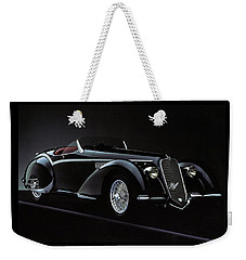 Alfa Romeo 8c 2900 Mercedes Benz Weekender Tote Bag