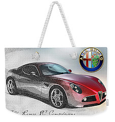 Alfa Romeo 8c Competizione  Weekender Tote Bag