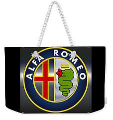 Alfa Romeo Logo Weekender Tote Bag