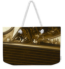 Alfa Romeo Front Grille Detail Phone Case Weekender Tote Bag by John Colley
