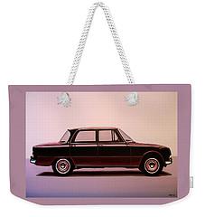 Alfa Romeo Giulia Super 1967 Painting Weekender Tote Bag
