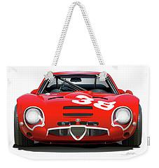 Alfa Romeo Giulia Tz2 Weekender Tote Bag