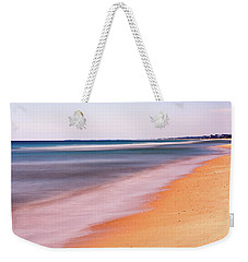 Weekender Tote Bag featuring the photograph Algarve Beach, Long Exposure - Portugal by Barry O Carroll