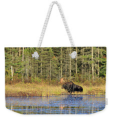 Algonquin Bull Moose Weekender Tote Bag