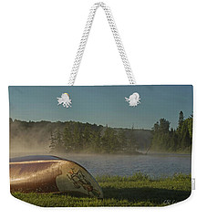 Algonquin Canoe Weekender Tote Bag by CR Courson