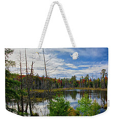 Algonquin In Autumn Weekender Tote Bag