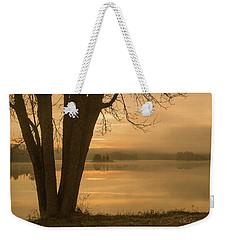 Algonquin Sunrise Weekender Tote Bag by CR Courson