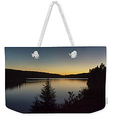 Algonquin Sunset Weekender Tote Bag by CR Courson