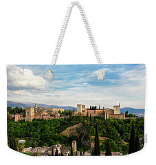 Alhambra In The Evening Weekender Tote Bag by Marion McCristall