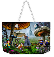 Ali In Wonderland Weekender Tote Bag