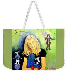 Alice In Garden Weekender Tote Bag