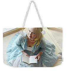 Alice In Wonderland Reads Her Story Weekender Tote Bag