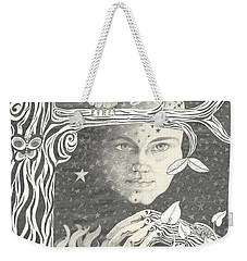 Alice Syndrome Weekender Tote Bag by Melinda Dare Benfield