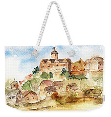 Alice's Castle Weekender Tote Bag