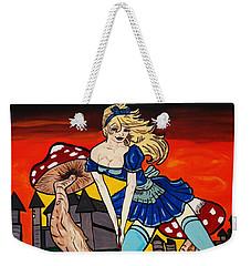 Alice's  In Wonderland Weekender Tote Bag by Nora Shepley