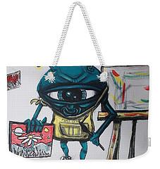 Alien Artist Weekender Tote Bag