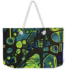 Alien Blue #2 Weekender Tote Bag