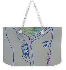 Alien Bob Weekender Tote Bag