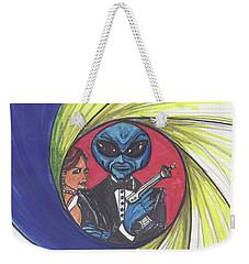 alien Bond Weekender Tote Bag