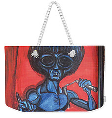 alien Bruce Lee Weekender Tote Bag