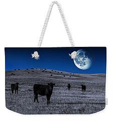 Alien Cows Weekender Tote Bag