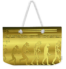 Alien Evolution Weekender Tote Bag