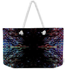Alien Face Off Weekender Tote Bag by Samantha Thome