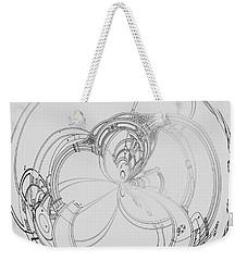 Alien Flywheel Weekender Tote Bag