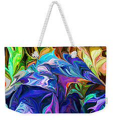 Alien Jungle Flora Weekender Tote Bag