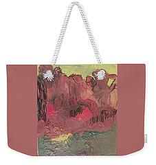 Alien Landscape Weekender Tote Bag